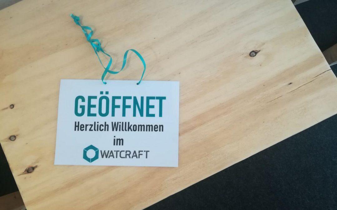 Tag der offenen Tür im WatCraft